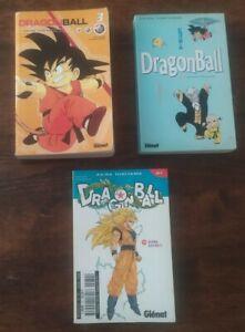 Lot De 3 Manga Dragon Ball - Dragon Ball double Tome 3,Dragon Ball tome...