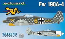 EDUARD MODELS 1/48 Fw190A4 Aircraft (Wkd Edition Plastic Kit)  EDU84121