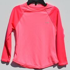 CHAMPION Girls' Youth Size XS/4-5 Semi-Fitted Duo Dry Max Pink on Pink Shirt