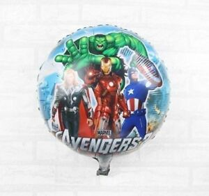 """18"""" Character Avenger Foil Helium Childrens Birthday Party Balloons Decoration"""