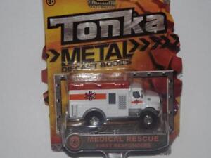 TONKA METAL DIE CAST BODIES MEDICAL RESCUE FIRST RESPONDERS!