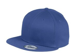 New Era 9Fifty 950 Flat Bill Snapback Hat -  Authentic NE400 - Ten Cap Colors