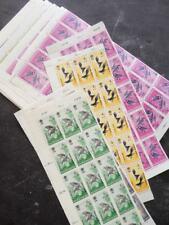 EDW1949SELL : INDONESIA 1965 Scott #B160-64 Birds 115 sets VF, Mint NH Cat $316.
