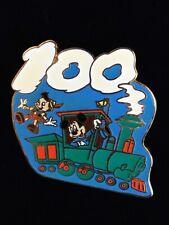 Disney Tokyo M&P 100 years of magic - #4 Train Mickey pinocchio Pin 7677