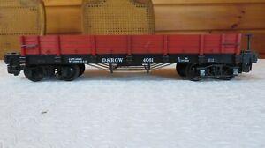 LGB G SCALE 4061 D&RGW Low-Sided Gondola W/ Original Box