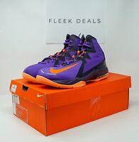 Nike Men Air Max Stutter Step 2 Hyper Grape Crimson Purple Black Orange Size 11