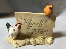 Vintage Mr. Lowell'S Farm Signage By Lowell Davis-Schmid-1989 Scotland