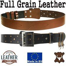 Officer Military Belt Made Of Full Grain Genuine Cowhide - Waistband Waist Strap