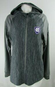 Holy Cross NCAA Adidas Women's Climalite Full-zip Hoodie in Gray