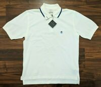 New Brooks Brothers Performance Mens Polo White Size Small