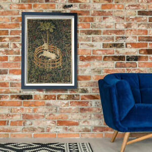 Unknown - The Unicorn in Captivity Wall Art Poster Print