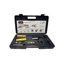 Crimp Tool Kit Plumbing Tubing Multi Head 4 in 1 Crimping Crimper Apollo PEX Set
