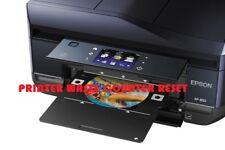 EPSON XP-850 PRINTER WASTE INK PAD RESET DISC/TOOL NEW - Digital Download