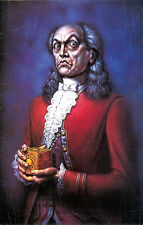 "Creepy Aristocrat Portrait Fantasy 18th Century -17"" x 22"" Fine Art Print -00260"