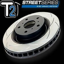 2x DBA DBA2480S Street T2 SLOTTED ROTOR ted FIT Hyundai Veloster Turbo 2012-> F