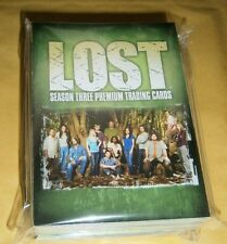 LOST SEASON THREE - 90 CARD BASE SET