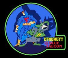 70's Cartoon Classic Dynomutt & Blue Falcon custom tee Any Size Any Color