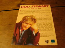 ROD STEWART OOH LA LA!!!!!!!!!!!!!RARE FRENCH PRESS/KIT