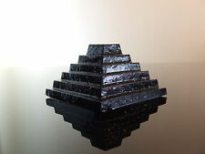4 X Orgón paso Pirámide de djoser Pirámide hhg Cristal De Cuarzo eliminar la radiación Om