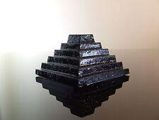 Orgone Step Pyramide de Djéser HHG Cristal Quartz Shungite Pyrite avec Shilajit