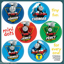 Thomas the Tank Engine Stickers - 48 Dots - 8 Sheets - Reward Charts - Birthday