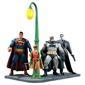 BATMAN Dark Knight Returns  4 x figura PVC 16cm DC Collectibles