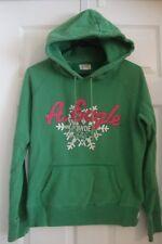 Women's jrs American Eagle green powder puff snowflake sweatshirt hoodie, M