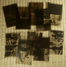 Antique Film Negative / Misc. People / 20 Images / Japanese / c. 1930s