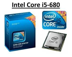 Intel Core i5-680 SLBTM Dual Core Processor 3.6 GHz, Socket LGA1156, 73W CPU