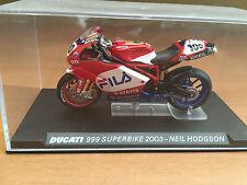 "DIE CAST "" DUCATI 993 SUPERBIKE 2003 - NEIL HODGSON "" SCALA 1/24"