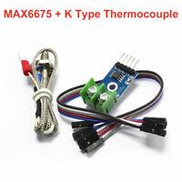 MAX6675 Module + K Type Thermocouple Temperature Sensor for Arduino FREE Wire