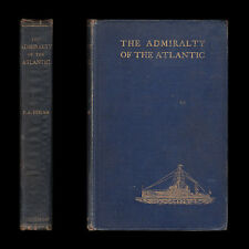 1908 ADMIRALTY OF ATLANTIC German Sea Power Bases INVASION OF ENGLAND Royal Navy