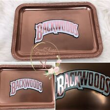 Custom Rose Gold Backwoods Rolling Tray
