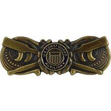USCG Coast Guard Auxiliary Badge Coxwain  REGULATION SIZE