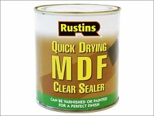 Rustins - Quick Drying MDF Sealer Clear 1 Litre