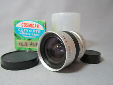 MINT NEW GLASS! COSMICAR FAST 1.4/12.5MM C-MOUNT LENS DIGITAL MOVIE CAMERA CCTV