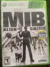 Men in Black: Alien Crisis (Microsoft Xbox 360, 2012)