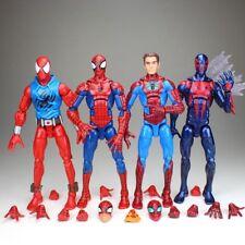 Marvel Legends Scarlet 2099 Spiderman Peter Parker Pizza Spidey Avengers Figure