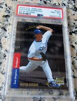 CLAYTON KERSHAW 2008 Upper Deck Rookie Card RC 1993 SP PSA 8 RARE Dodgers HOT $$