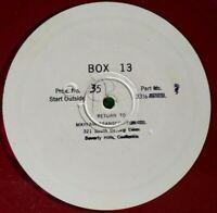 Radio Transcription Discs  - Box 13 - Episodes 35 and 36 - 1949 - Alan Ladd