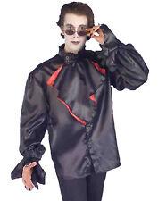 Gothic Vampire Mens Adult Dracula Costume Accessory Shirt-STD