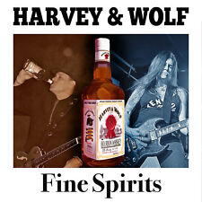HARVEY & WOLF - FINE SPIRITS CD - Cycle Sluts From Hell / Headcat - NEW