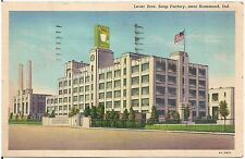 Lever Brothers Soap Factory Near Hammond IN Postcard 1941