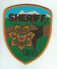COLORADO - Conejos County Sheriff patch