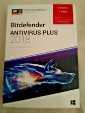 Bitdefender Antivirus Plus 2018 3 PCs / 2 Years with Free Shipping