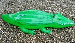 Bestway  Luftmatratze Krokodil Schwimmtier Wassertier Bade Matratze Kinder Kroko