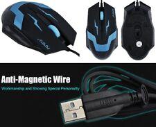 USB Optical 1600DPI Gamer Maus 3D Gaming Mouse Windows, 2 Stück. NEU & unbenutzt
