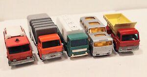 Decent Truck Lot of 5 Lesney Matchbox 1960s
