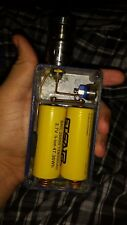 26650 chaos box with batteries and tank authentic very rare blue