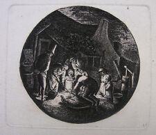 Deuchar/Ostade 'the pigkillers; le porc batailles; pig Killers' ~ 1803